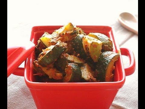 recette-de-salade-de-courgettes-à-la-marocaine-moroccan-zucchini-salad-recipe