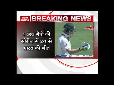 India vs Australia 4th Test Match: India beat Australia by 8 wickets in Dharamsala Test Match