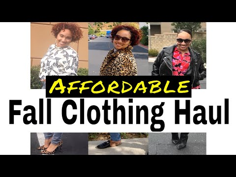 What I Buy When I'm NOT Thrifting | How To Shop On A Budget | Huge Affordable Fall Haul