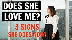 How To Know If A Woman Loves You | Top 3 Signs She Does NOW!