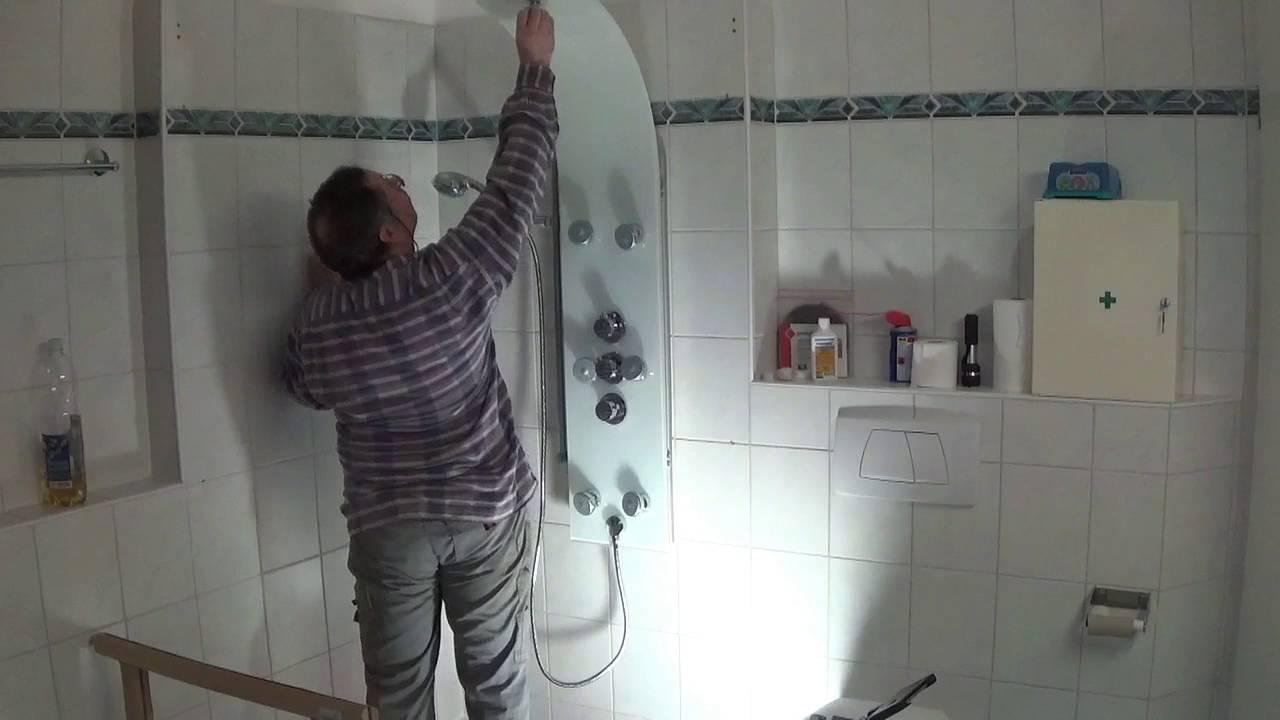 Cabine Douche Thalasso avec remplacement de la cabine de douche - youtube