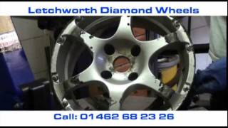 Letchworth Diamond Wheels - The Alloy Wheel Refurbishment process