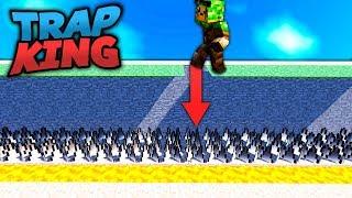 FAKE BLOCK FALLE! - MINECRAFT TRAP KING #11