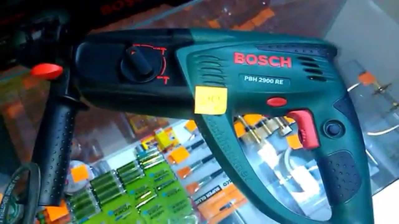 Перфоратор Bosch GBH 2-24 D с патроном SDS-plus - YouTube