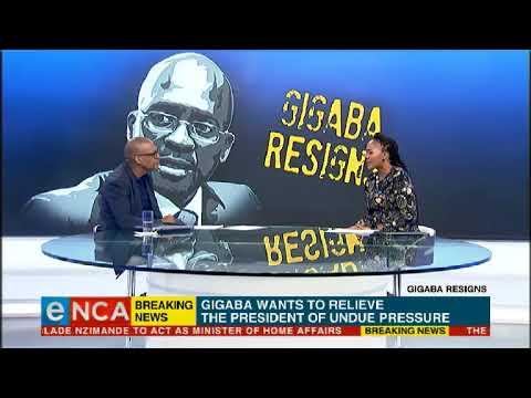 ANC comments on Gigaba's resignation