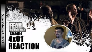4x01 REACTION 'What's Your Story?' || FTWD Season 4