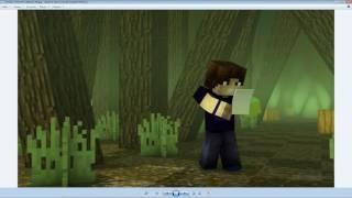 Клип 4 пацана (Minecraft)