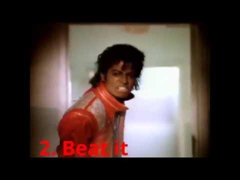 Top 10 Best Michael Jackson (The King of Pop)  Songs