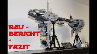 LEPIN - 05083 - EF76 Nebulon - B Escort Frigate # Baubericht + Fazit deutsch