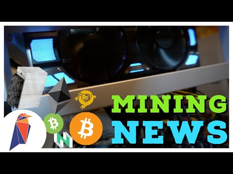 BIG GPU, ASIC, & FPGA Crypto Mining News! ProgPoW For Ravencoin And ETH? BTC BCH BSV Block Halvings