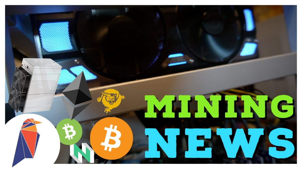 BIG GPU, ASIC, & FPGA Crypto Mining News! ProgPoW for Ravencoin and ETH? BTC BCH BSV Block Halvings - YouTube
