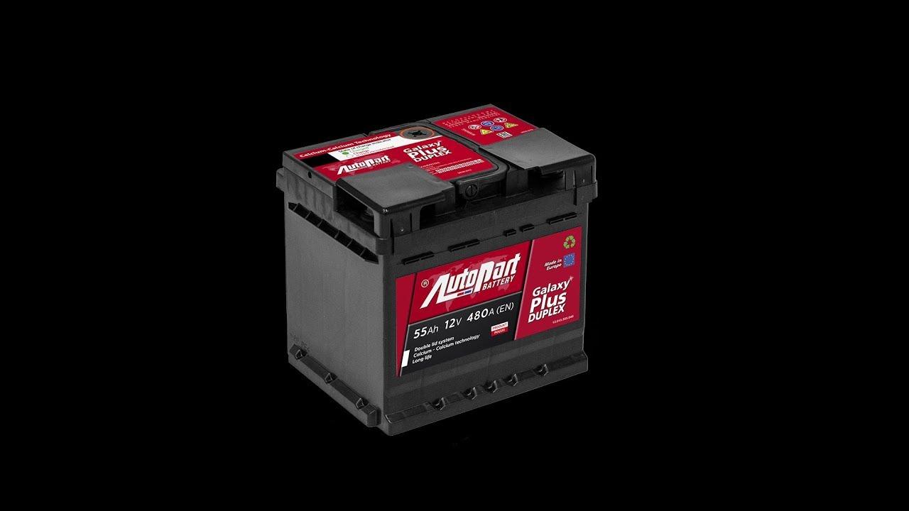 456066d5059 Test Nowości Rynkowej: Akumulator AUTOPART Galaxy Plus Duplex 55Ah 480A