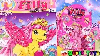Magazine Pony Filly Baby Stars №3 2016+Surprise toy Журнал Филли Звезды+Лошадка Филли