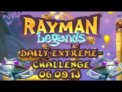 Rayman Legends Daily Extreme-Challenge 06.09.13 - Diamond Cup - The Dojo