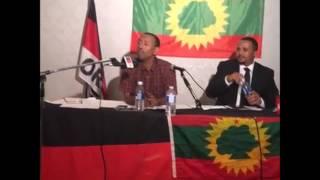"Prof  Ezekiel Gebissa& Jawar Mohammed on  ""Oromo National Charter For Freedom & Justice"