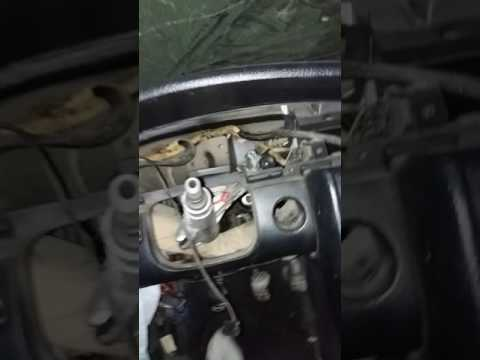 Как снять рулевую рейку с Audi 100  самый легкий вариант