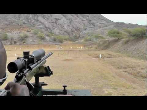 Jason shooting steel target ~440 yards