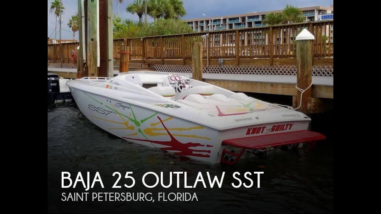 [SOLD] Used 2002 Baja 25 Outlaw SST in Saint Petersburg, Florida