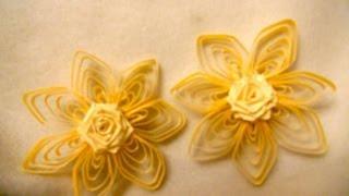 Unique quilling flower   My Design