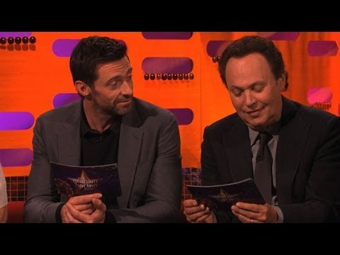 Hugh and Billy try some baking innuendos - The Graham Norton Show - New Year's Eve 2012 - BBC One
