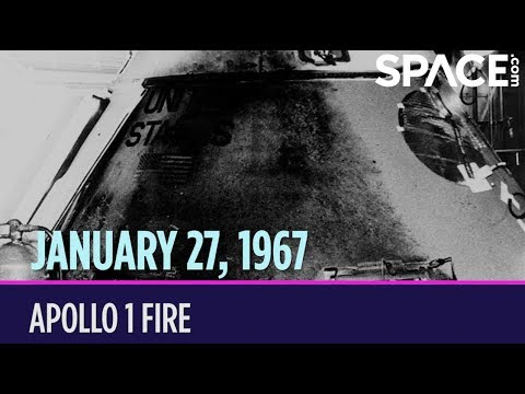 otd in space january 27 apollo 1 fire youtube. Black Bedroom Furniture Sets. Home Design Ideas