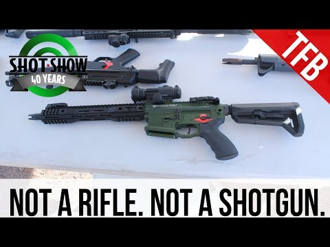 """[SHOT 2018]: Franklin Armory's Reformation non-NFA 11.5"""" AR-15"""