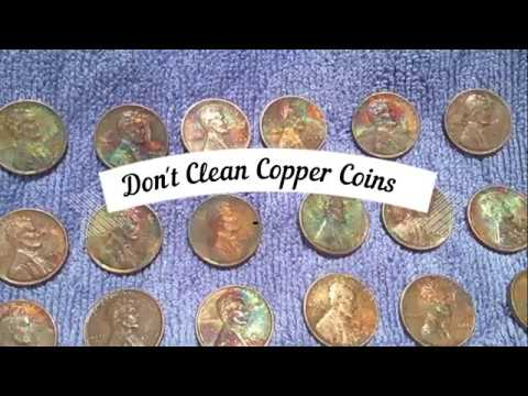 Why Not To Clean Copper Cents !
