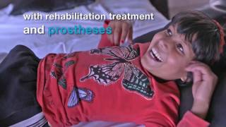 The future is bright for Nirmala and Khendo - Nepal earthquake - Handicap International