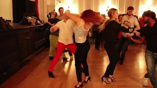 Hammersmith Salsa & Bachat Club Bachata Performance by  1 2018.10.31.