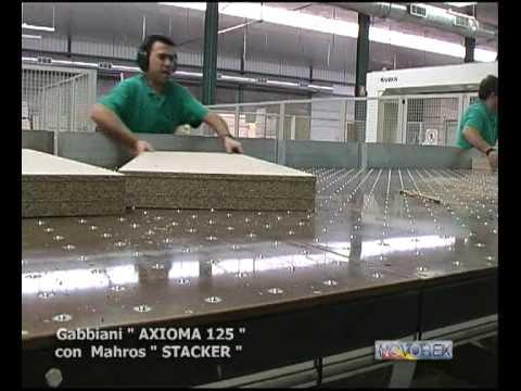 Gabbiani AXIOMA 125 Con Mahros Stacker