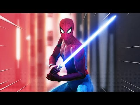 Star Wars Battlefront 2 but with SPIDERMAN MODS