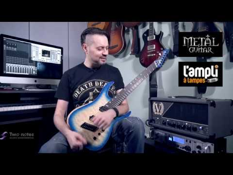 Ormsby Guitars Hype GTR 7 Multiscale - Victory VX100 The Super Kraken – Two notes Torpedo Studio