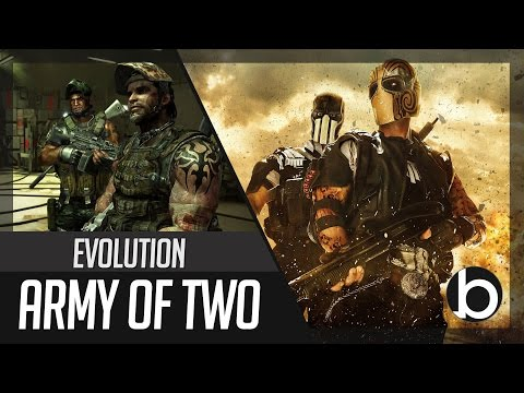 Evolution of ARMY OF TWO 2008  2013