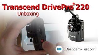 Unboxing ★ Transcend DrivePro 220 | Dashcam Testberichte - dashcam-test.org