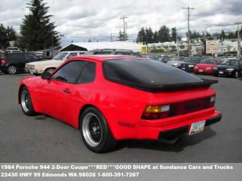1984 porsche 944 2 door coupe red good shape 2995 at. Black Bedroom Furniture Sets. Home Design Ideas