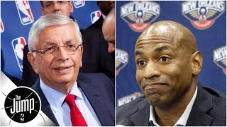 David Stern roasts Pelicans GM: 'Lousy' at his job, might lose Anthony Davis | The Jump