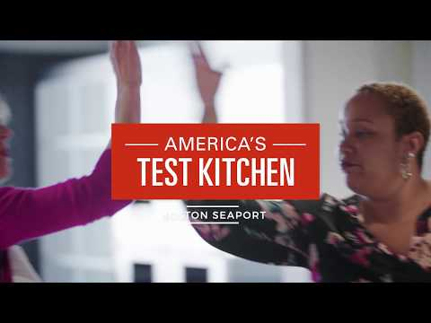 Behind-The-Scenes at America's Test Kitchen's New Home in Boston's Seaport District