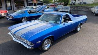 Test Drive 1968 Chevrolet El Camino $17,900 Maple Motors #1115
