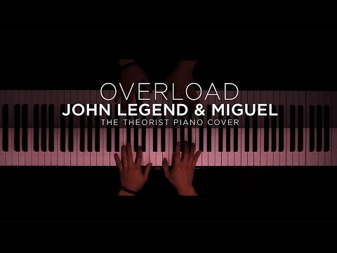 John Legend & Miguel - Overload   The Theorist Piano Cover