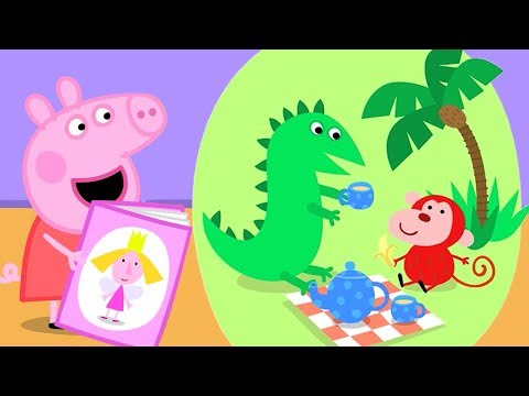 Peppa Pig English Episodes | Peppa's Library Visit! Peppa Pig Official