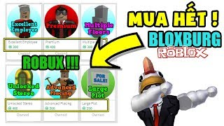 ROBLOX - France FULL ROBUX CHICKEN BUY GAME PASS IN BLOXBURG