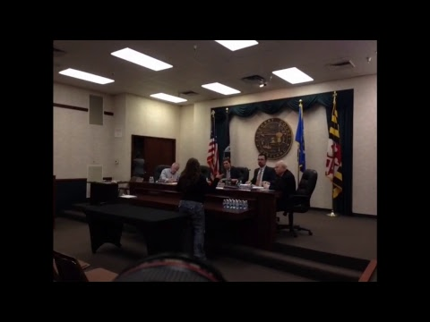 March 22 Public Business Meeting of the Allegany County Board of County Commissioners