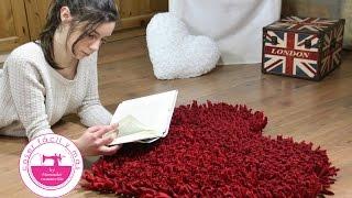 Cómo hacer una alfombra de trapillo (vídeo corto)