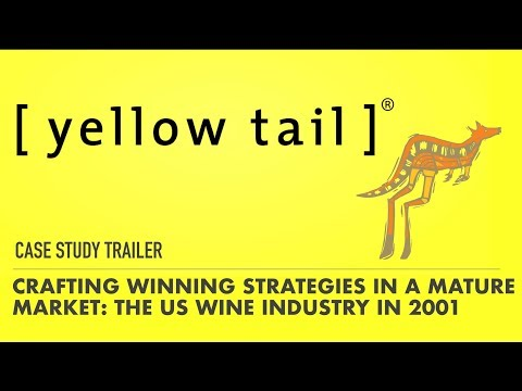 Crafting Winning Strategies in a Mature Market: The US Wine Industry in 2001