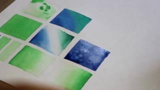 Уроки рисования акварелью - как смешивать цвета | АРТАКАДЕМИЯ