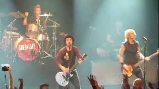 Green Day - Nuclear Family @ Irving Plaza in NYC 9/15/12
