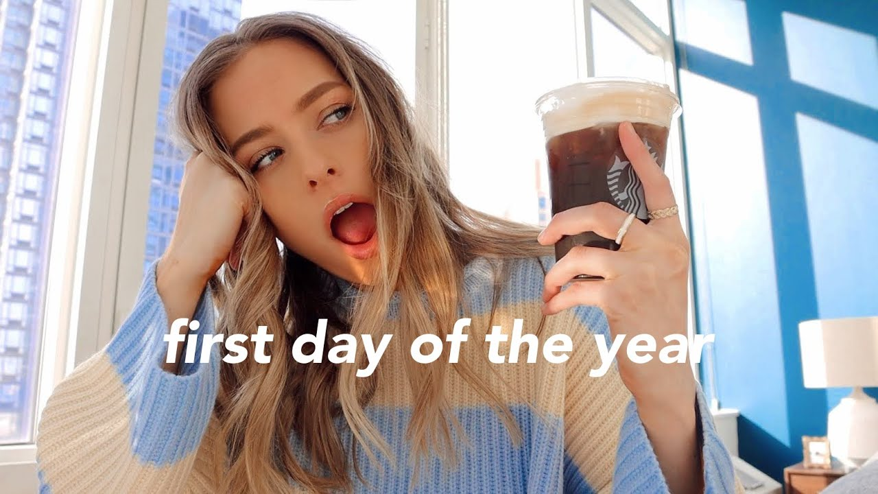 FIRST Day of the Year VLOG (healthy, goals, & habits)
