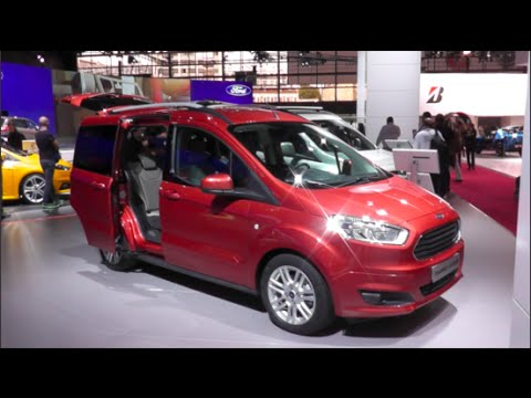 ford tourneo courier 2015 in detail review walkaround interior exterior youtube. Black Bedroom Furniture Sets. Home Design Ideas