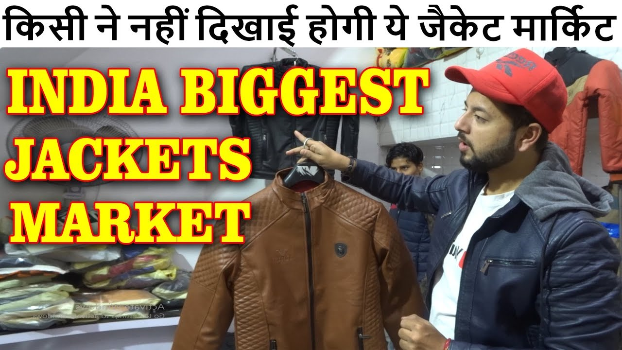 Jafrabad Jackets Market Asia Biggest Wholesale Jackets Market