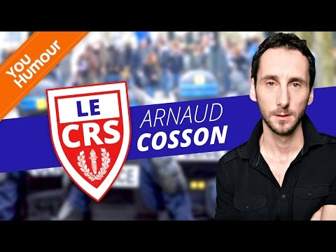 ARNAUD COSSON - Le CRS